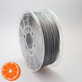 Hot Orange 3D PLA Zilver