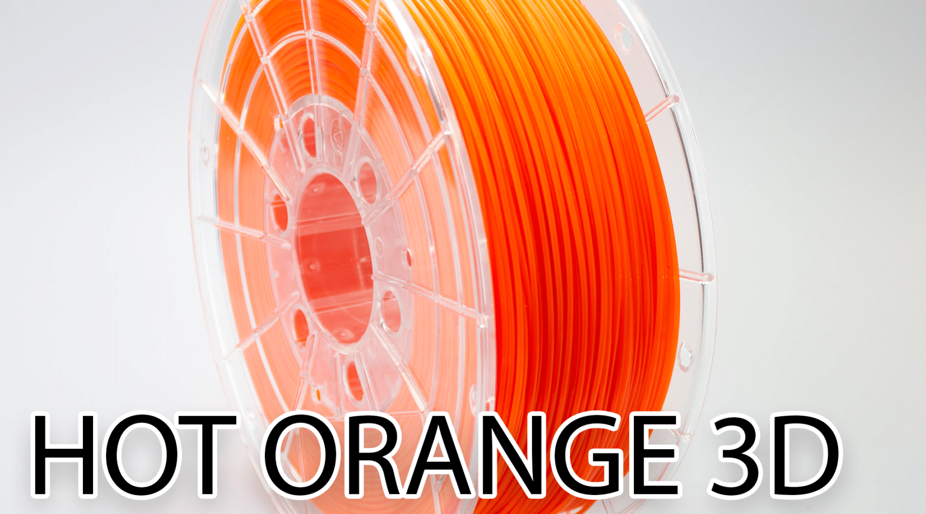 Hot Orange 3D Filament bij 2FIX Automatisering